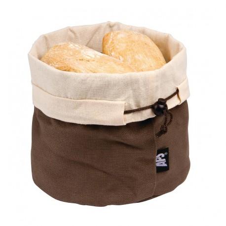 Corbeilles à pain marron et beige APS