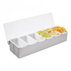 Boîte à compartiments x6