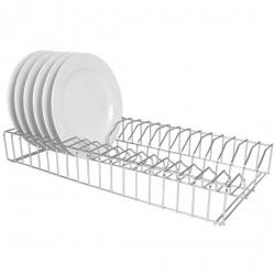 Support pour assiettes en acier inoxydable Vogue 91 cm