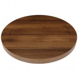 Plateau de table rond effe chêne rustique 600mm Bolero