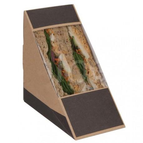25 boîtes à Sandwich Kraft