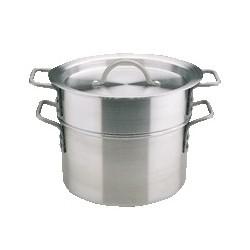 Double casserole Aluminium
