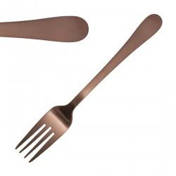 12 fourchettes à dessert cuivre 183mm Cyprium Olympia