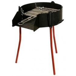 Barbecue Rustica 3 en 1 Grille RONDE