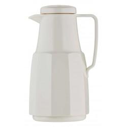Pot isothermique gaine en plastique intérieur verre blanc