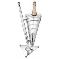 Seau à champagne standart en inox double paroi