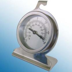 Thermometre frigo/congélateur cadran inox -30+30°C