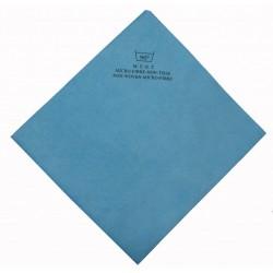Micro-fibre non tissée 40x38 cm bleu