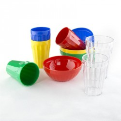 12 Verres en polycarbonate Kristallon 142 ml