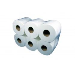6 rouleaux 2 plis blanc +- 280 coupons midi