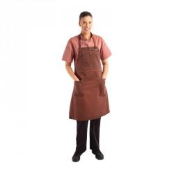 Tablier bavette rouille Chef Works Urban Dorset