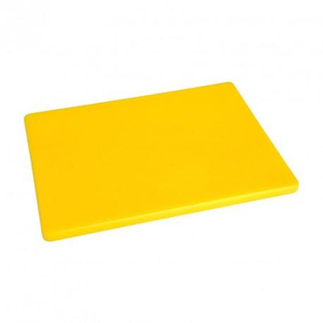 Planche à découper basse densité jaune Hygiplas