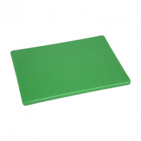 Planche à découper basse densité verte Hygiplas