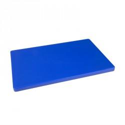 Planche à découper épaisse basse densité bleue Hygiplas