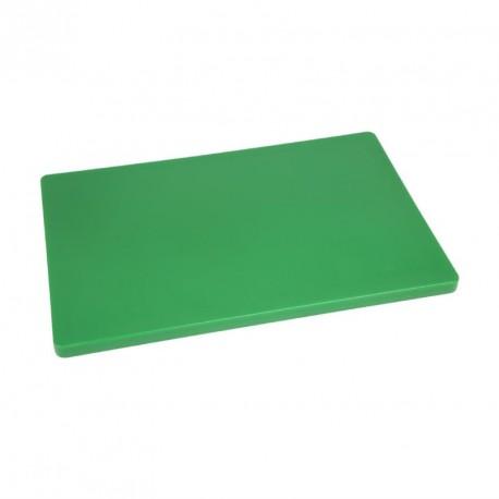 Planche à découper épaisse basse densité verte Hygiplas