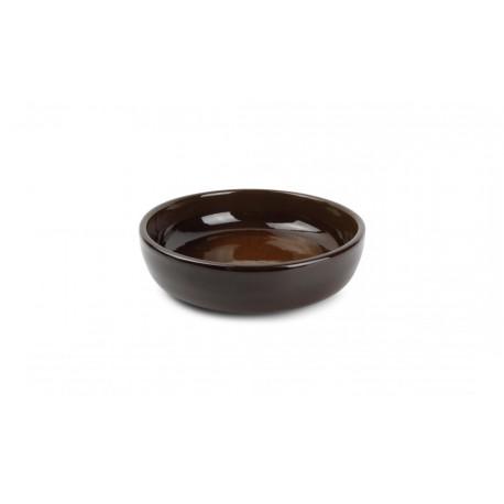 Plat à four 25xH6cm brun Forno