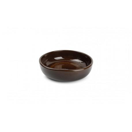 Plat à four 20xH5,5cm brun Forno