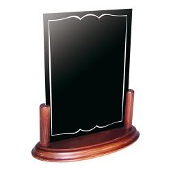 Porte menu ardoise A4