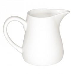 Pots à lait blancs 170ml Olympia