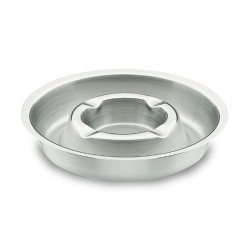 Cendrier inox Ø 13 cm