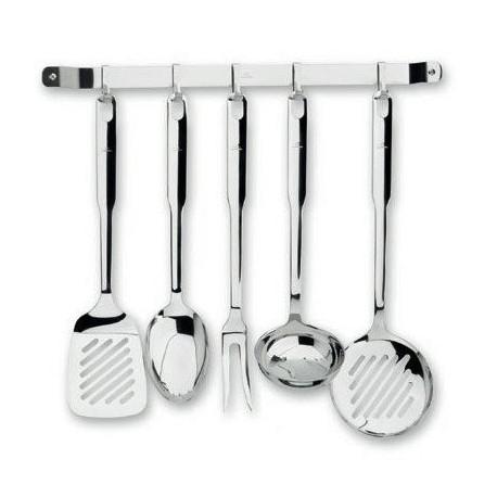 5 ustensiles de cuisine inox 18 10 super monobloc horeca pro. Black Bedroom Furniture Sets. Home Design Ideas