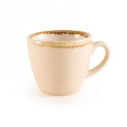 Tasse à espresso couleur sable Kiln Olympia 85ml lot de 6