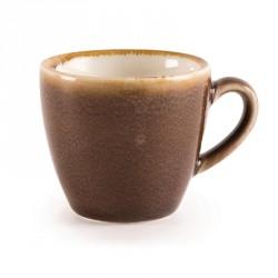 Tasse à espresso couleur écorce Kiln Olympia 85ml lot de 6