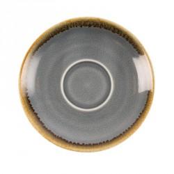 6 Soucoupes 115mm couleur océan Kiln Olympia pour GP328