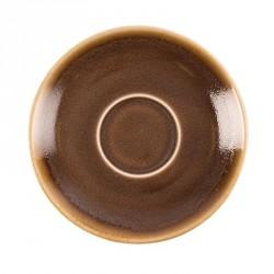 Soucoupe couleur écorce Kiln Olympia pour GP328 115mm lot de 6