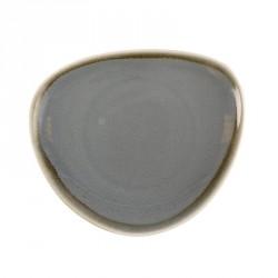 Assiette triangulaire couleur océan Kiln Olympia 165mm lot de 6