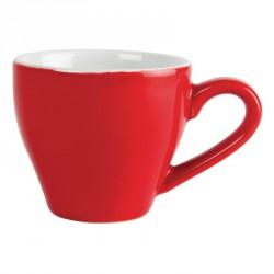 Tasse à espresso Olympia 100ml rouge