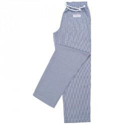Pantalons Easyfit - Petits carreaux bleus