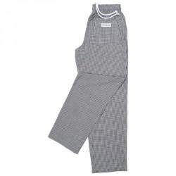 Pantalons Easyfit - Carreaux noirs