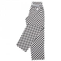 Pantalons Easyfit - Gros carreaux noirs
