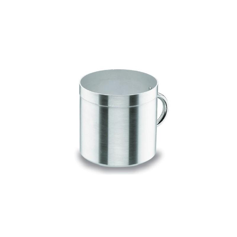 Pot cilindrique aluminium sans couvercle chef aluminium lacor horeca pro for Porte couvercle casserole