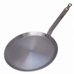 Poêle à crêpes en fer minéral De buyer COMPATIBLE INDUCTION