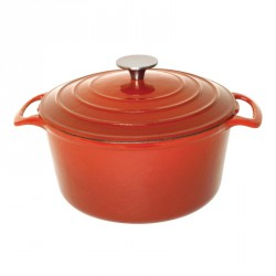 Cocotte ronde orange Vogue