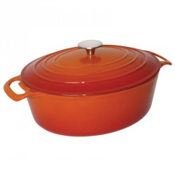 Cocotte ovale orange Vogue