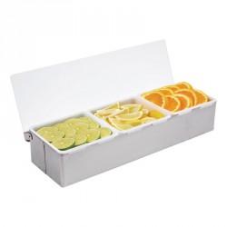 Boîte à compartiments x3