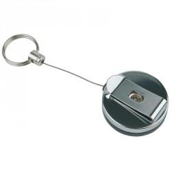 2 portes-clés rétractable
