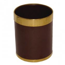 Corbeille 10,2 litres brune