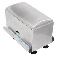 Distributeur de pailles en acier inoxydable