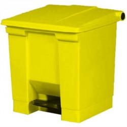 Conteneur à déchets Rubbermaid jaune 30.5Ltr