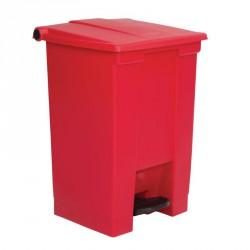 Conteneur à déchets Rubbermaid rouge 45.5Ltr
