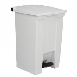 Conteneur à déchets Rubbermaid blanc 45.5Ltr
