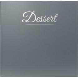 Carte des desserts - Classique