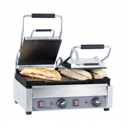 Grill Panini double Premium Lisse - Lisse