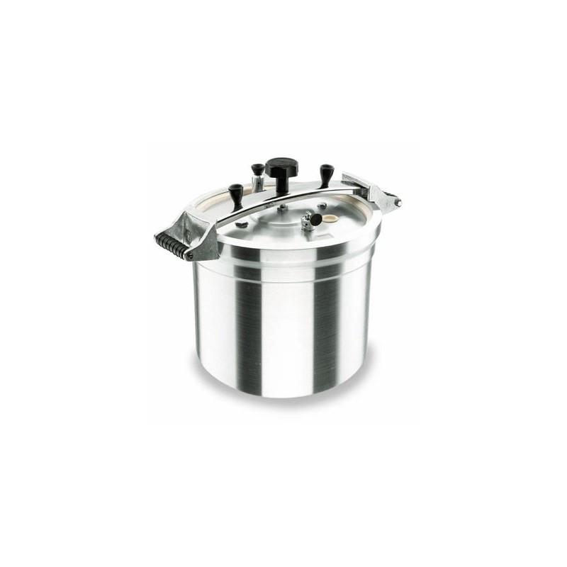 Robust cocotte minute pression avec couvercle aluminium horeca pro - Cocotte minute aluminium ...
