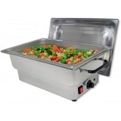 Chafing Dish GN1/1 électrique avec couvercle ALINA