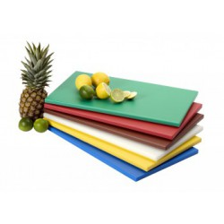 Planche de découpe 50x30 polyéthylène vert